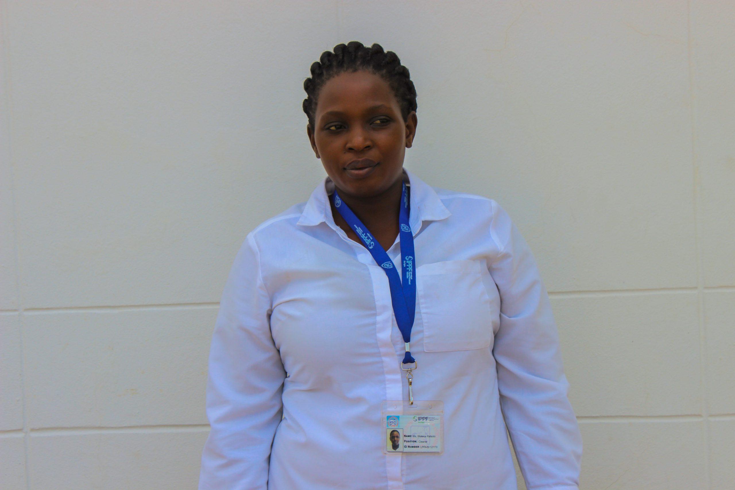 Motena Rats'olo :                           Office Assistant - Head Quarters