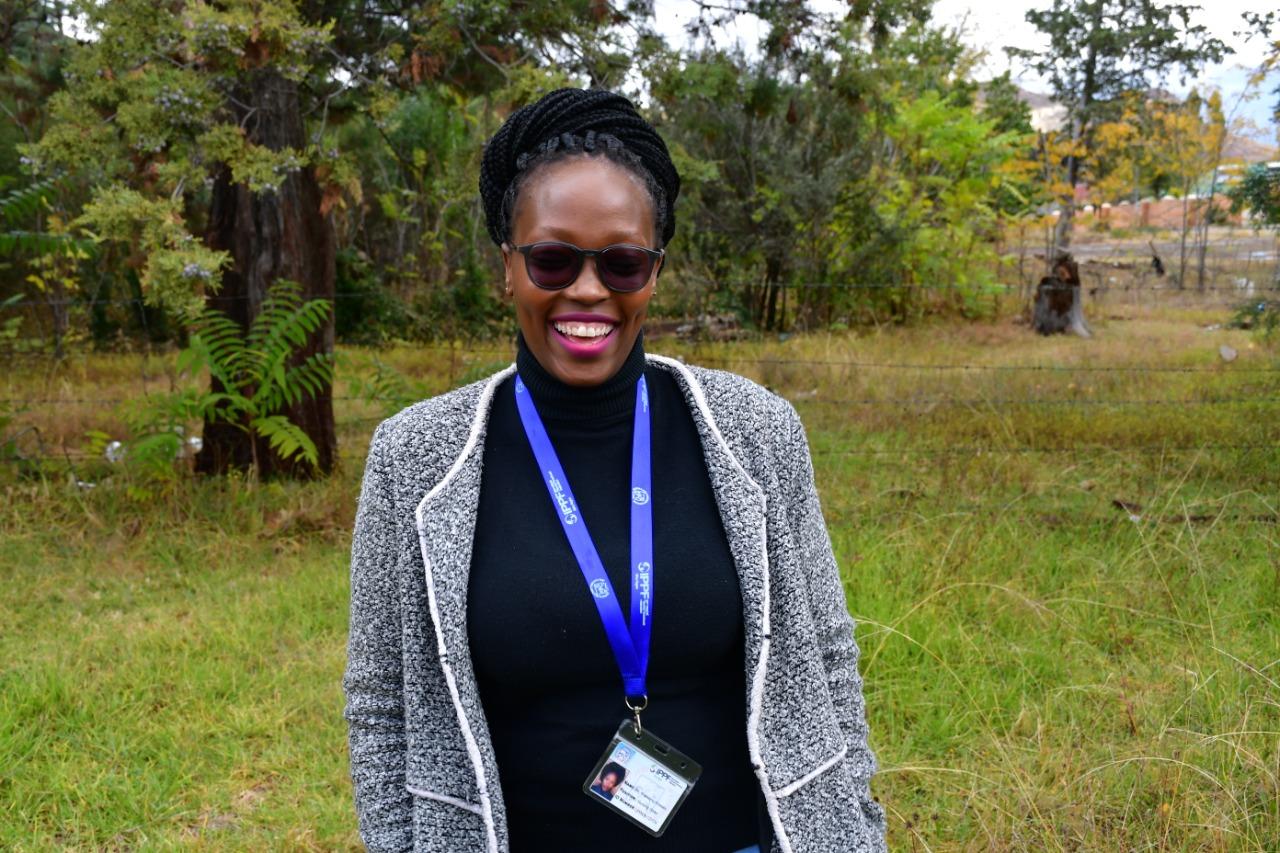 Ithabeleng Khasake :                           Nursing Sister - Mohale's Hoek clinic
